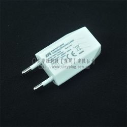 TEU1000,White Colour, Mini USB Charger/Adapter